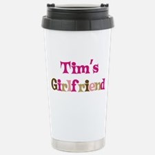 Tim's Girlfriend Stainless Steel Travel Mug