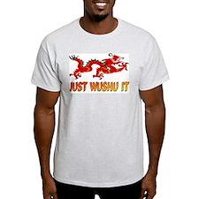 Just Wushu It 2 Ash Grey T-Shirt