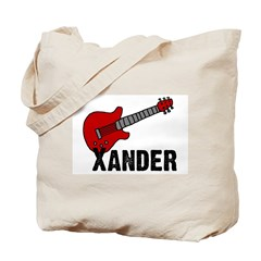 Guitar - Xander Tote Bag