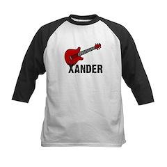 Guitar - Xander Kids Baseball Jersey