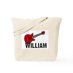 Guitar - William Tote Bag