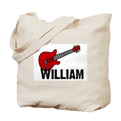 Guitar - William Tote Bag