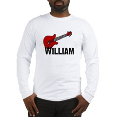 Guitar - William Long Sleeve T-Shirt