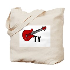Guitar - Ty Tote Bag