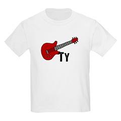 Guitar - Ty Kids T-Shirt