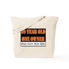 99th Birthday Tote Bag
