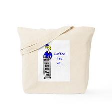 Cute Flight attendant Tote Bag