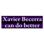 Xavier Becerra can do better Bumper Sticker