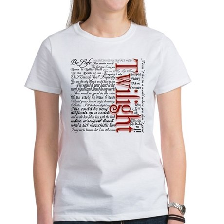 Movie Twilight Quotes Gifts Women's T-Shirt