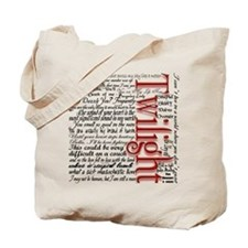 Movie Twilight Quotes Gifts Tote Bag