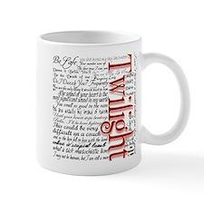 Movie Twilight Quotes Gifts Mug