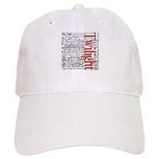 Movie Twilight Quotes Gifts Baseball Cap