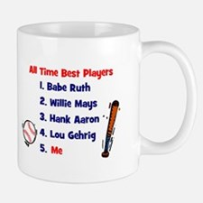 ALL TIME BEST PLAYERS Mug