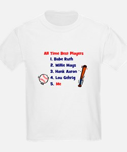 ALL TIME BEST PLAYERS T-Shirt