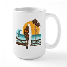 Navarre Beach FL Mug