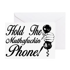 Hold The Phone Greeting Cards (Pk of 20)