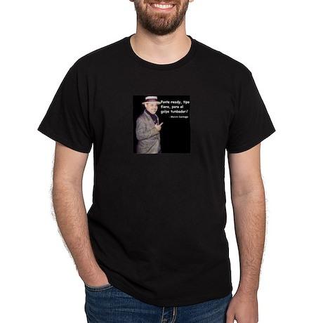 Marvin Santiago Quality Black T-Shirt