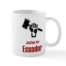 Justice For Ecuador Mug