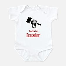 Justice For Ecuador Infant Bodysuit