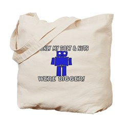 Bolt And Nuts Tote Bag