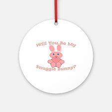Snuggle Bunny Ornament (Round)