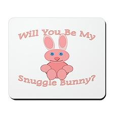 Snuggle Bunny Mousepad