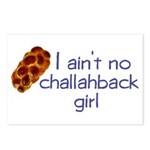 I ain't no challahback girl Postcards (Package of