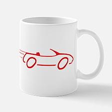 EV Miata drawing-red Mugs