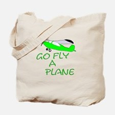 funny airplane Tote Bag