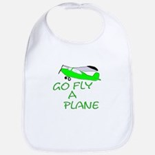 funny airplane Bib