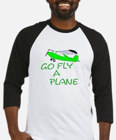 funny airplane Baseball Jersey