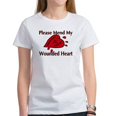 Valentine Wounded Heart Women's T-Shirt