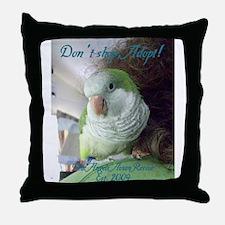 Unique Blue quaker Throw Pillow