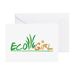 Eco Girl Greeting Cards (Pk of 10)