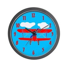airplane Wall Clock