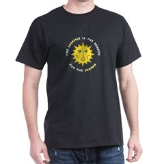 Solstice Night Black T-Shirt