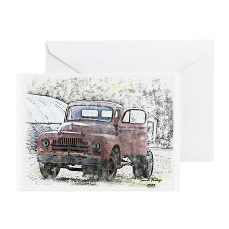 Old Truck Greeting Cards (Pk of 10)