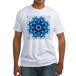 Clouds VI Fitted T-Shirt