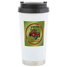 Peachtree City Holidays Travel Mug