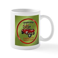 Peachtree City Holidays Mug