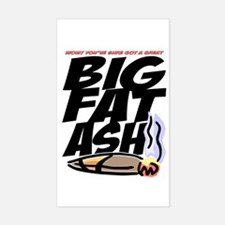 BigFatAsh! Rectangle Decal
