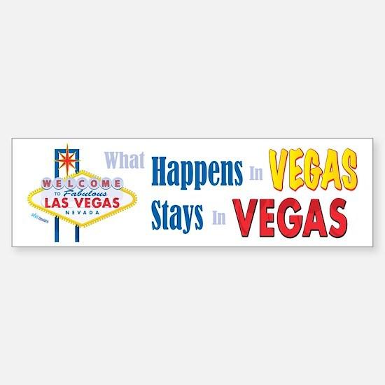 Vegas Bumper Bumper Bumper Sticker