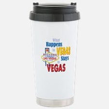 Vegas Stainless Steel Travel Mug