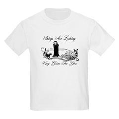 Looking Grim Kids Light T-Shirt