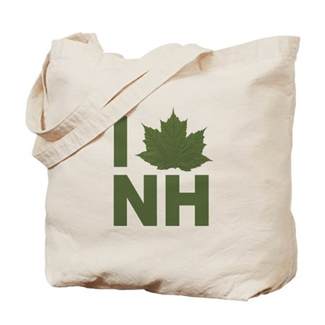 I Love NH Tote Bag