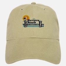 Navarre Beach FL Baseball Baseball Cap