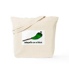 Jalapeno on a Stick Tote Bag