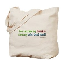"""Cold, dead hand"" Tote Bag"