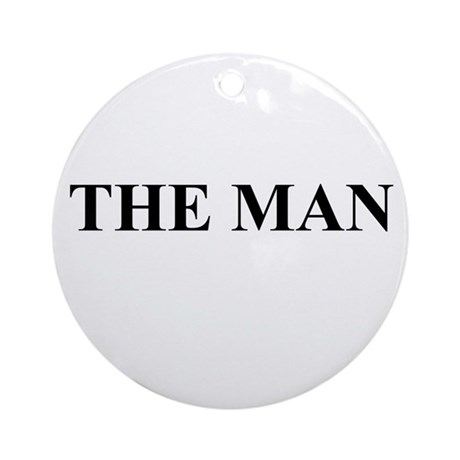 The Man Ornament (Round)