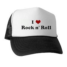 I Love Rock n' Roll Trucker Hat